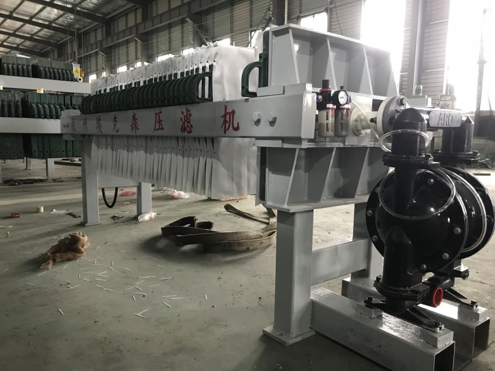 泵机一体式板框压滤机图片