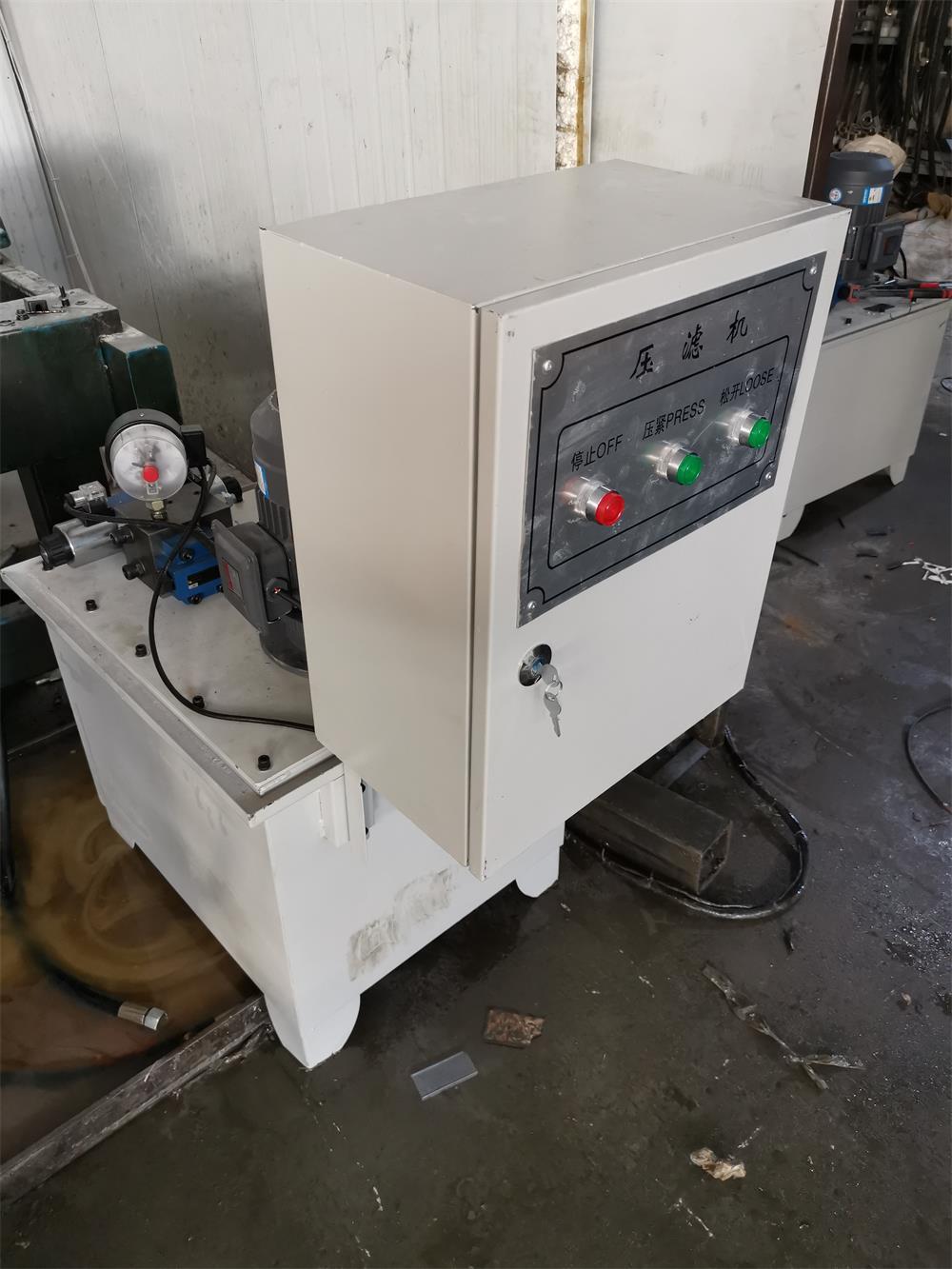 压滤机液压站图片